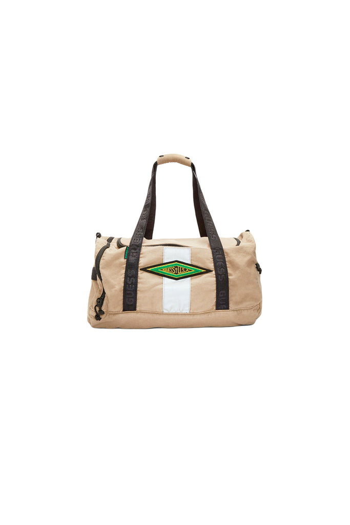 Canvas Duffle Bag - Warm Caramel