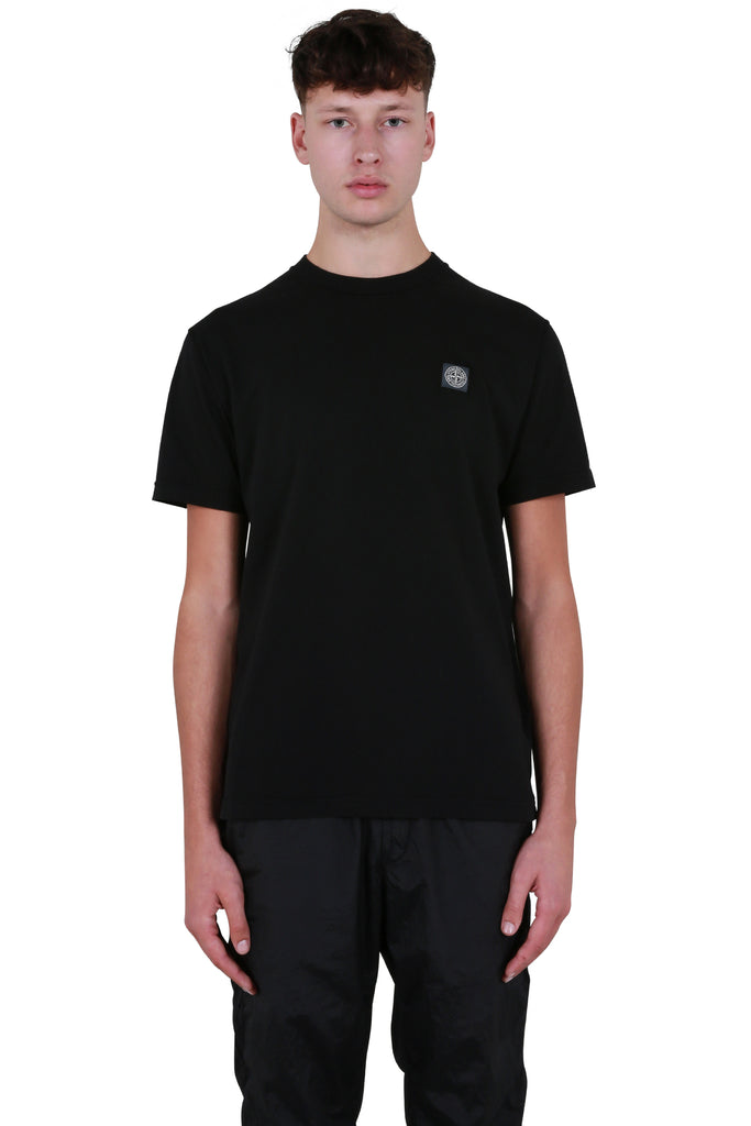 Logo Patch T-shirt - Black