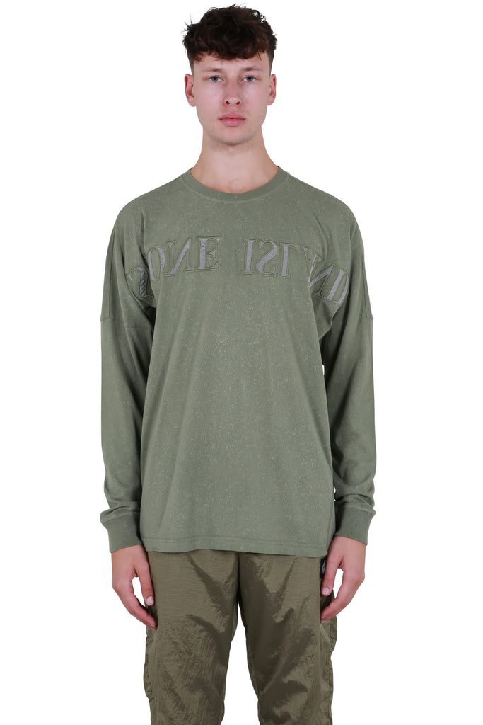 Long Sleeve Logo T-shirt - Olive