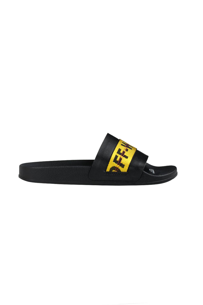 Industrial Slides - Black/Yellow