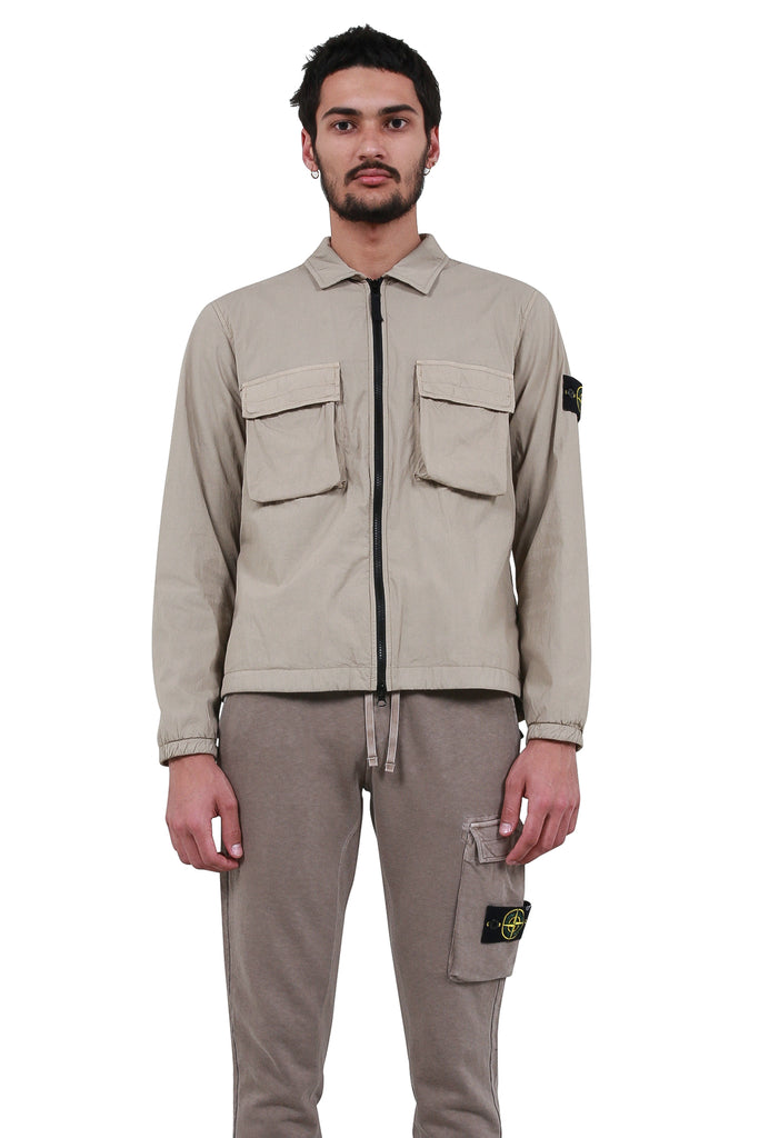 Overshirt Jacket - Sand