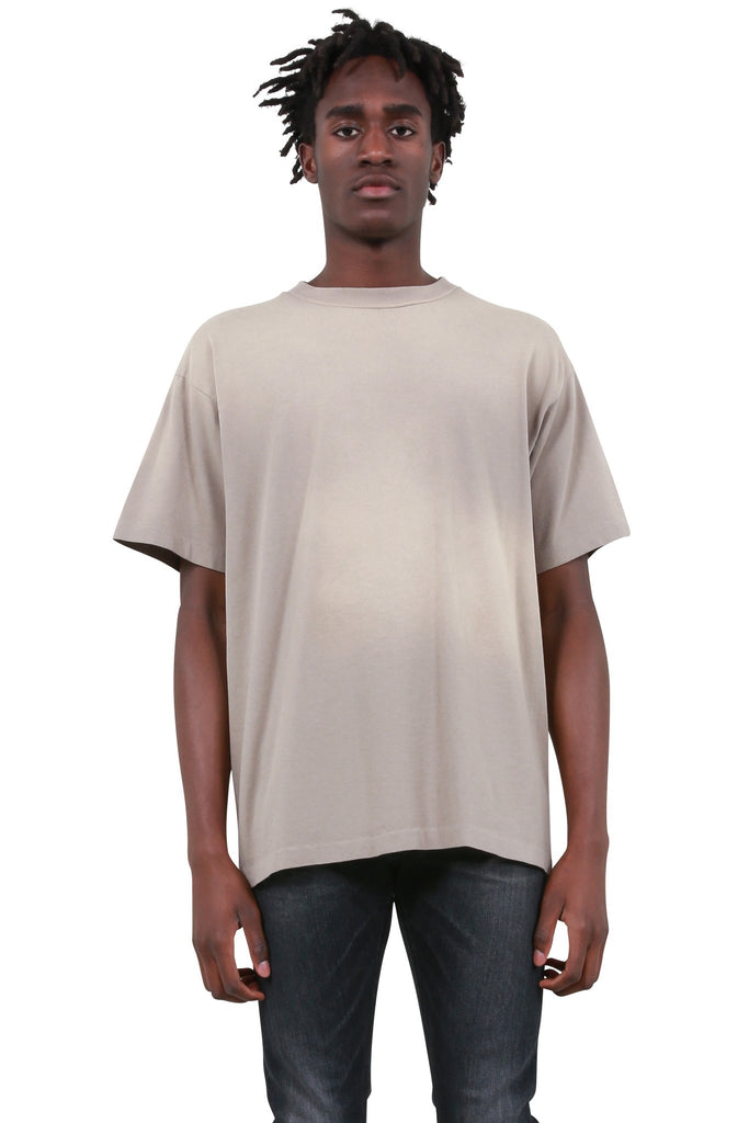 Sun-Drenched University T-Shirt - Taupe