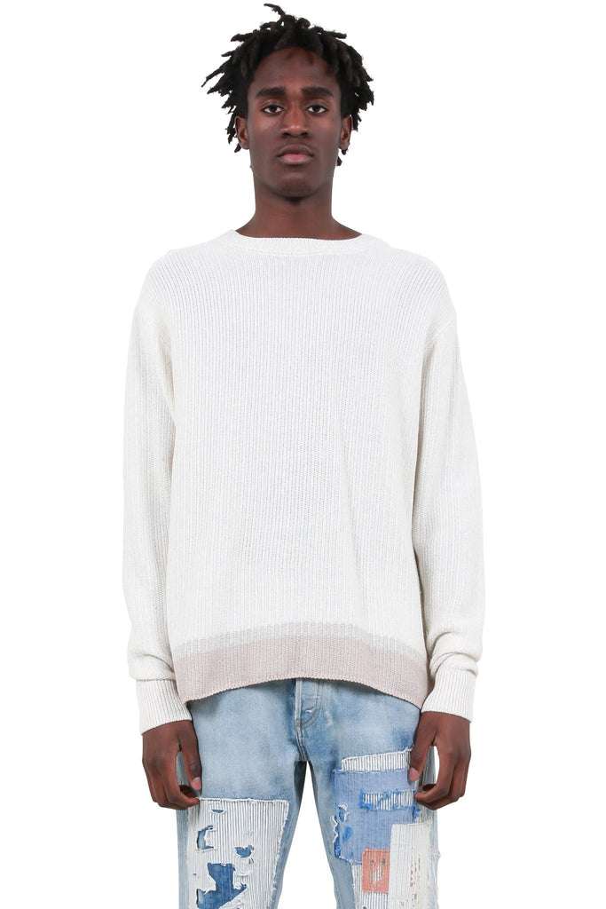JOHN ELLIOTT: Canal Sweater - Ivory | LESSONS