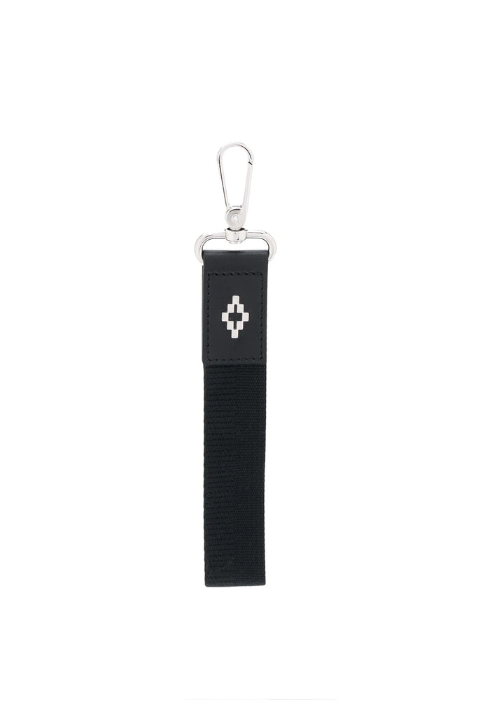 Cross Key Holder - Black/Silver