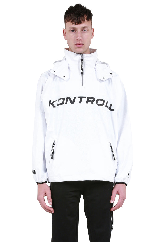 Raincoat - White/Black