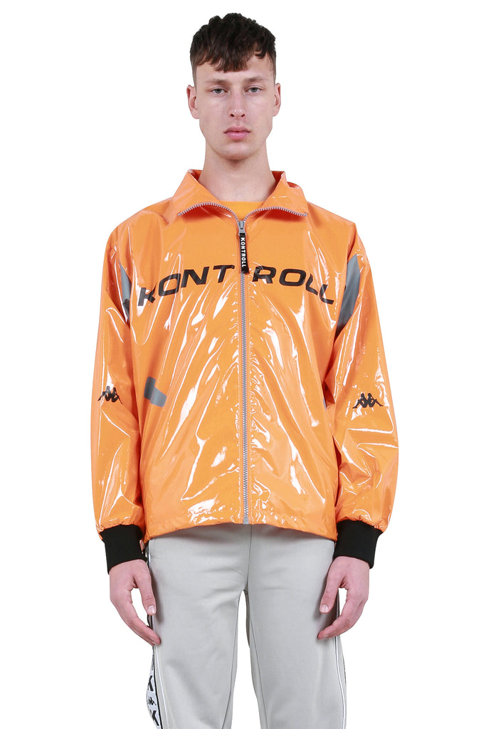 Light Windbreaker - Orange/Grey/Black