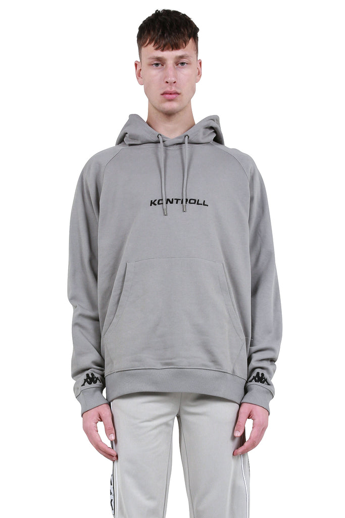 Fleece Hoodie - Grey/Black