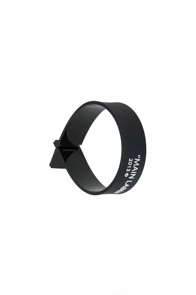 Label Bracelet - Black