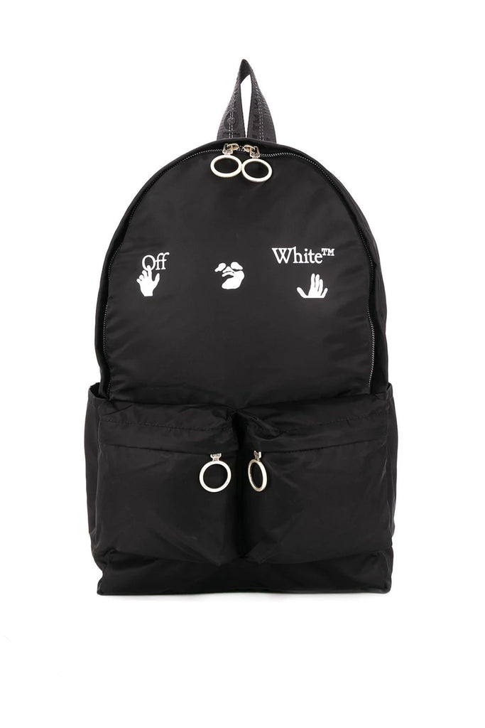 Logo Backpack - Black/White