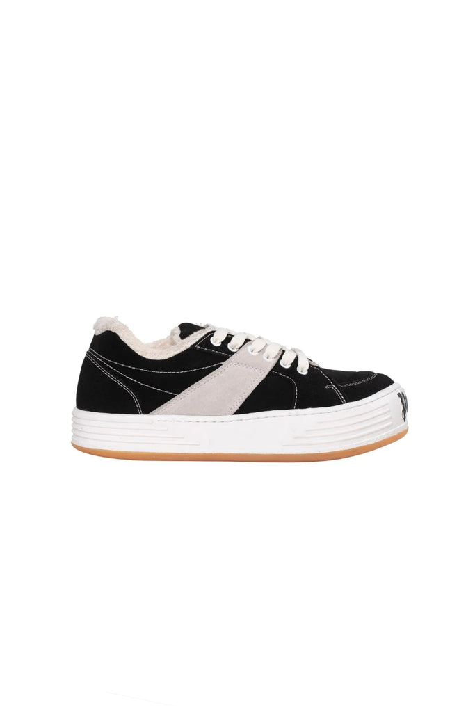 Suede Snow Low Top - Black/White