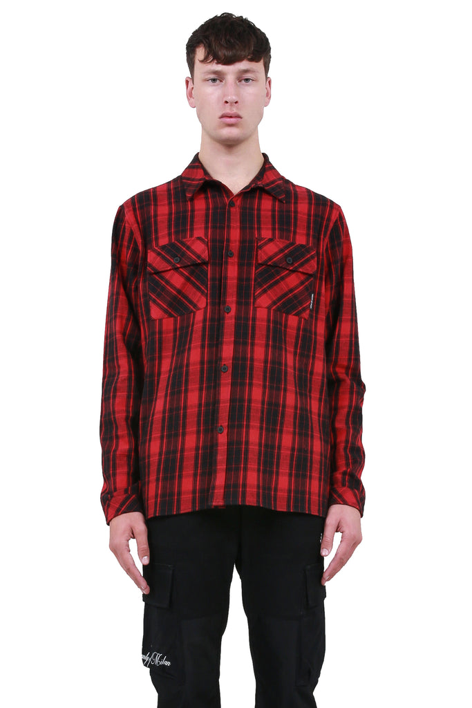 Heart Wings Shirt - Red/Black