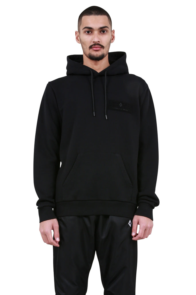Patch Wings Hoodie - Black/Multicolor