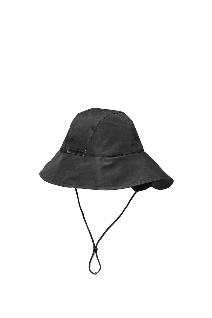 Sailing Nylon Bucket Hat - Black