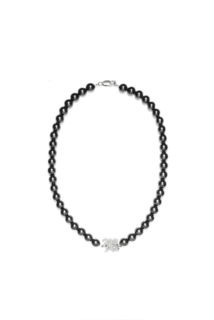 M Black Pearl Necklace (Long)