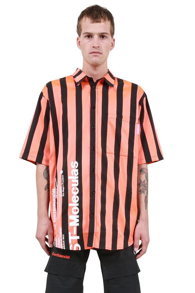 Warning Shirt - Orange