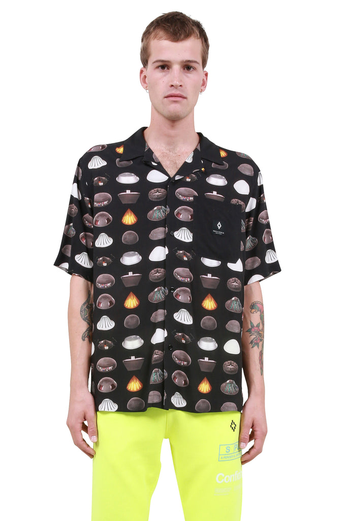 MARCELO BURLON: C.E All Over Spaceships Shirt | LESSONS