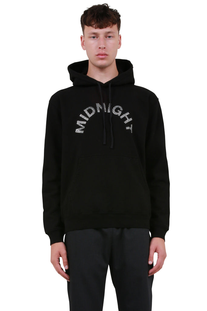 Midnight Studios: Crystal Logo Hoodie - Black | LESSONS