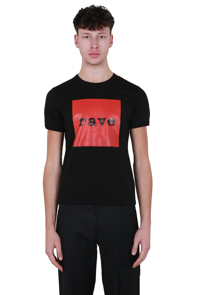 Rave Fitted T-shirt - Black