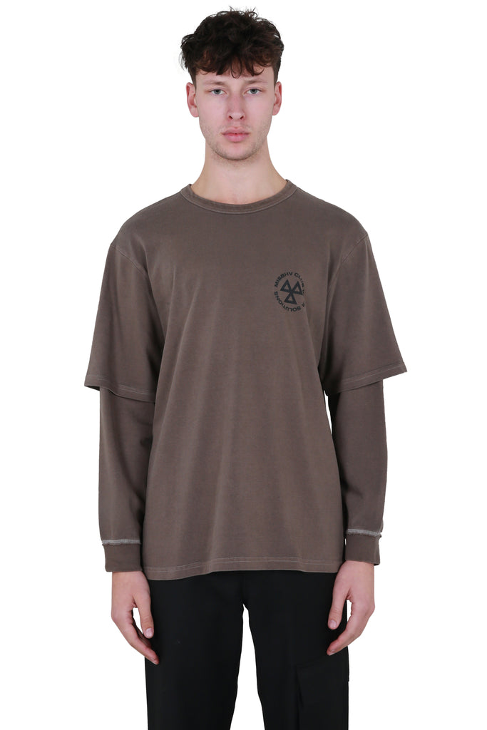Taupe CWS Long Sleeve T-shirt