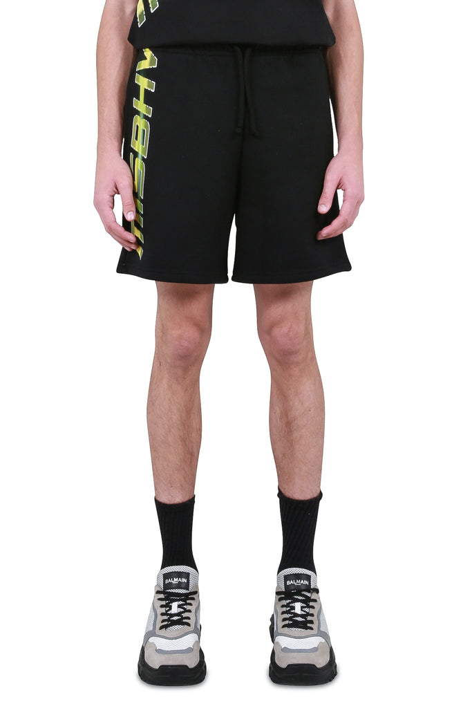 Space Logo Sweatshorts - Black