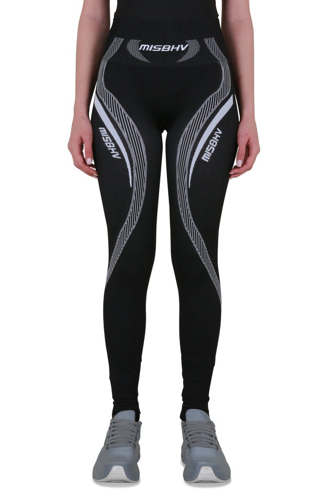 Sport Active Classic Leggings - Black/White