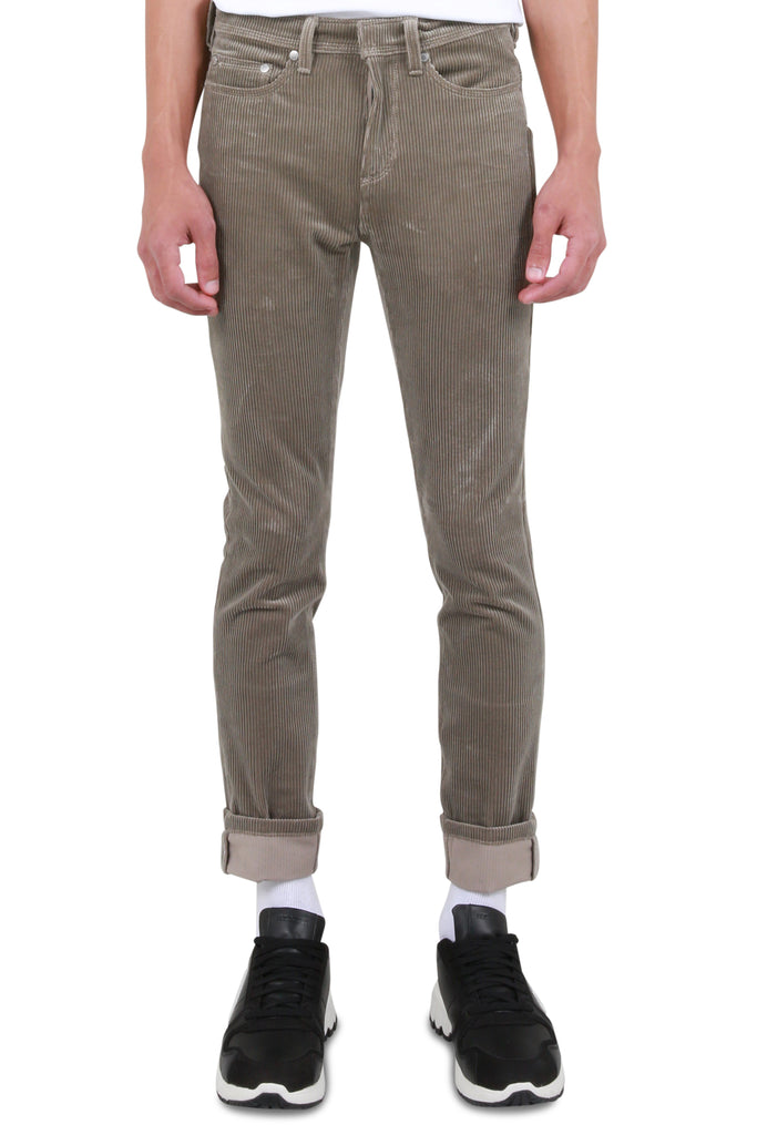 NEIL BARRETT: Corduroy Trousers - Light Taupe | LESSONS