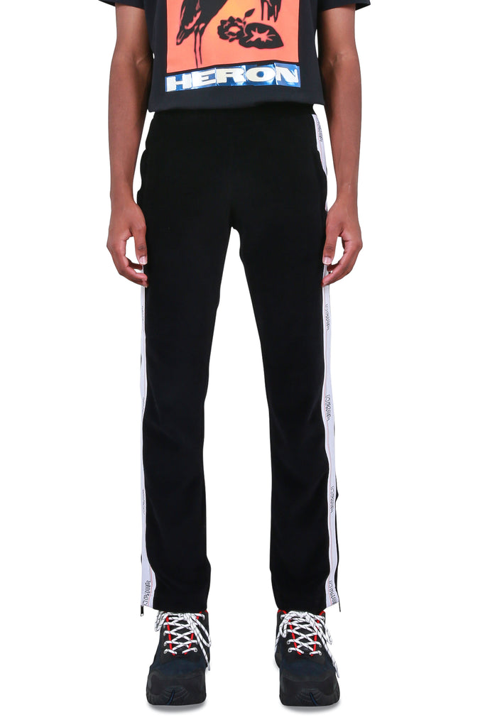 Tape Trackpants  - Black/White