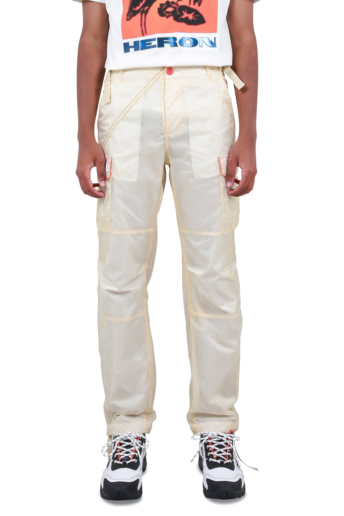 Parachute Cargo Pants - Off-White