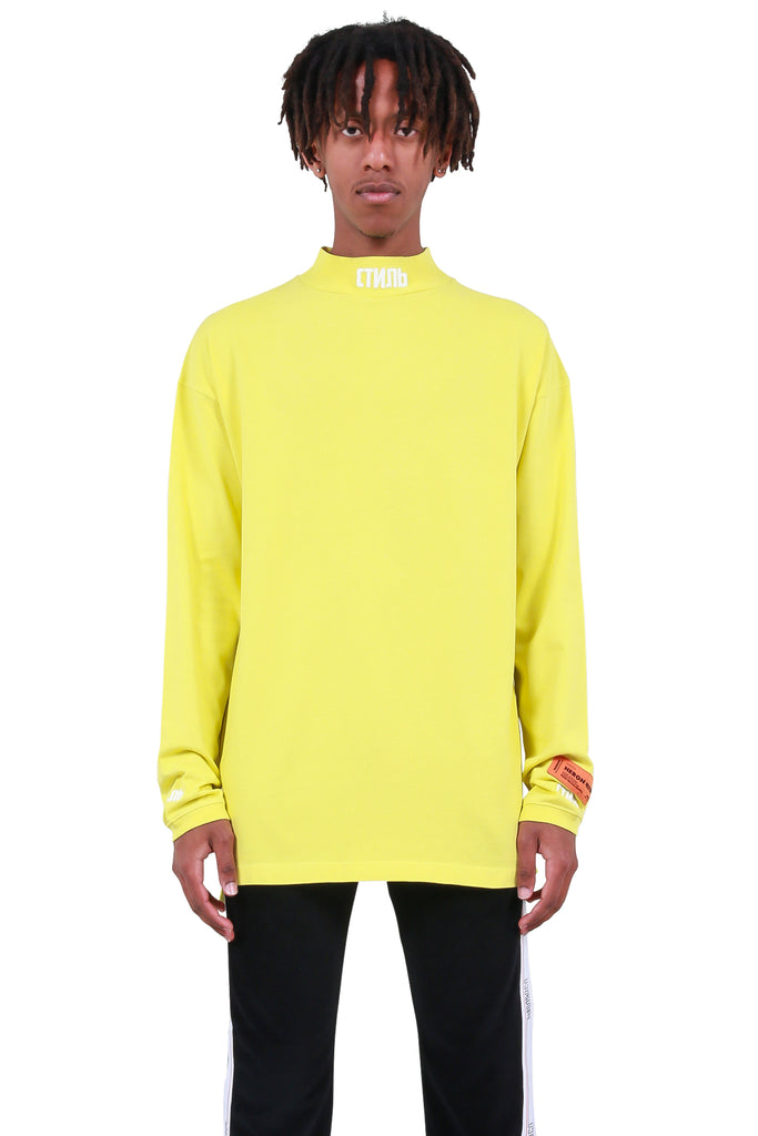 CTNMB Turtleneck - Green/Yellow