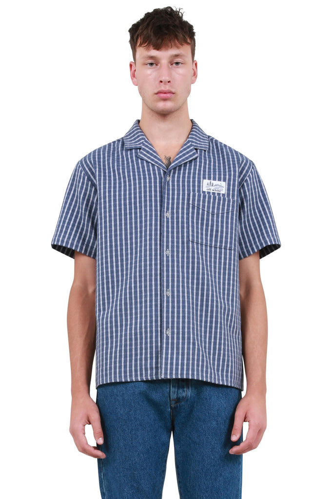 Striped Holiday Shirt - Blue