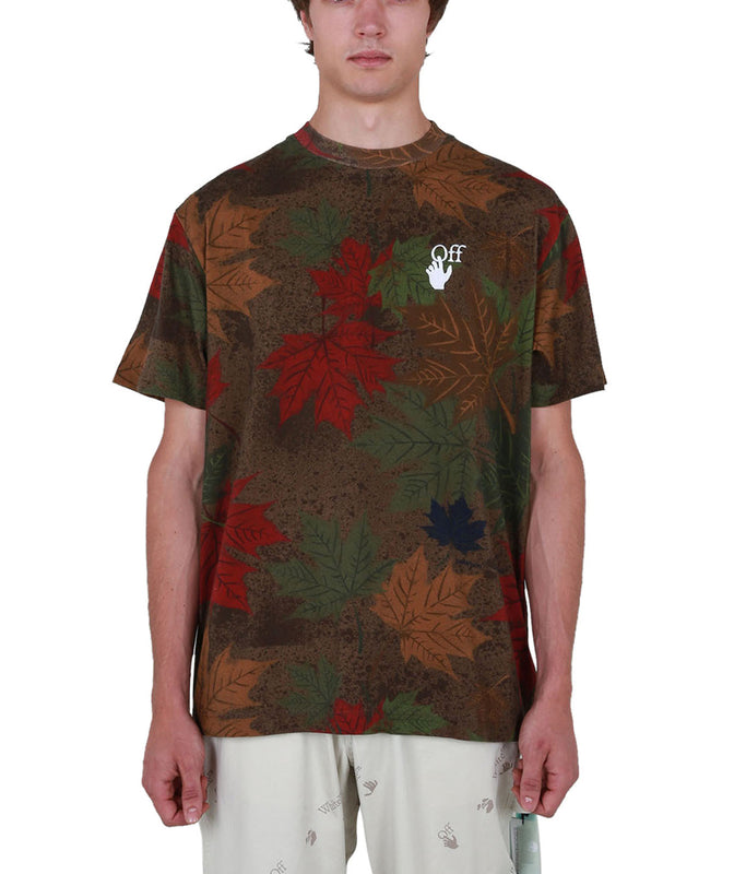 Camo Arrow Oversized T-shirt - Camo/White