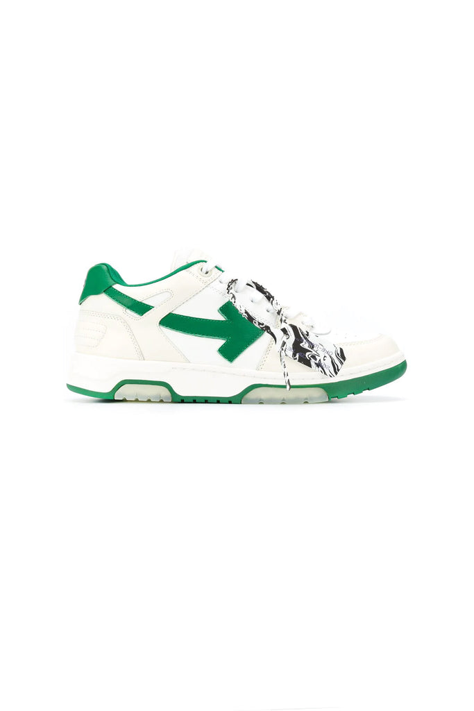 Out Of Office Sneakers - White/Green
