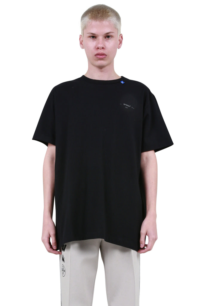 Unfinished Oversized T-Shirt - Black/Silver