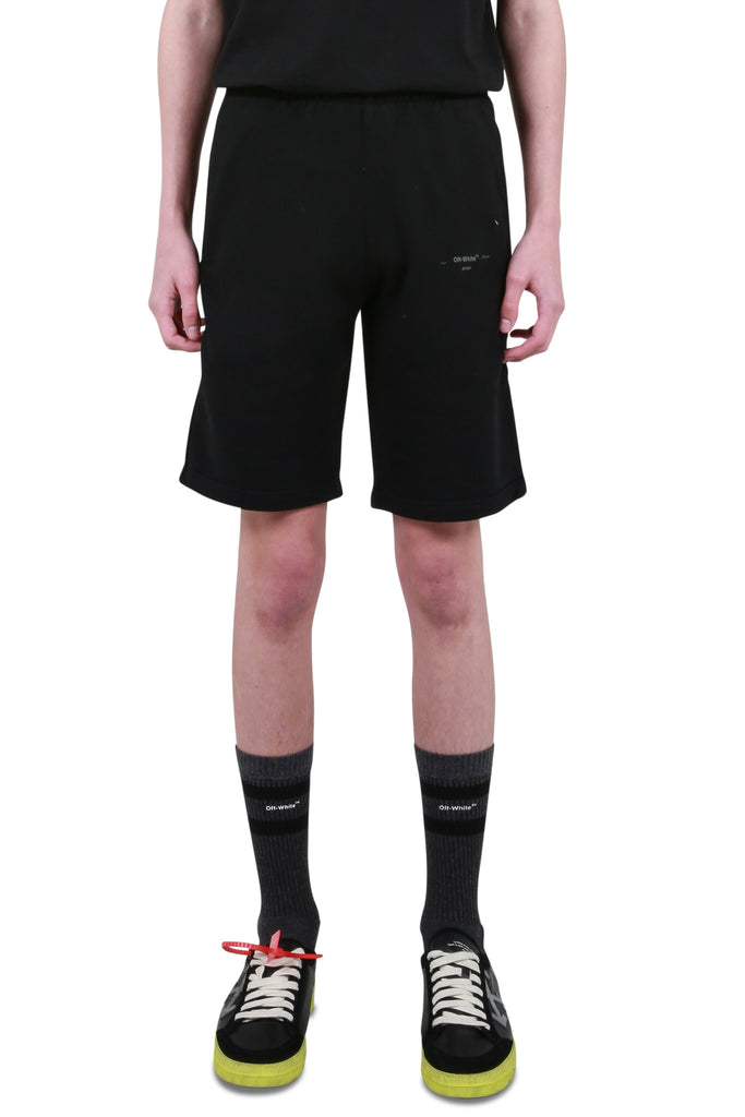 Unfinished Sweatshorts - Black/Silver
