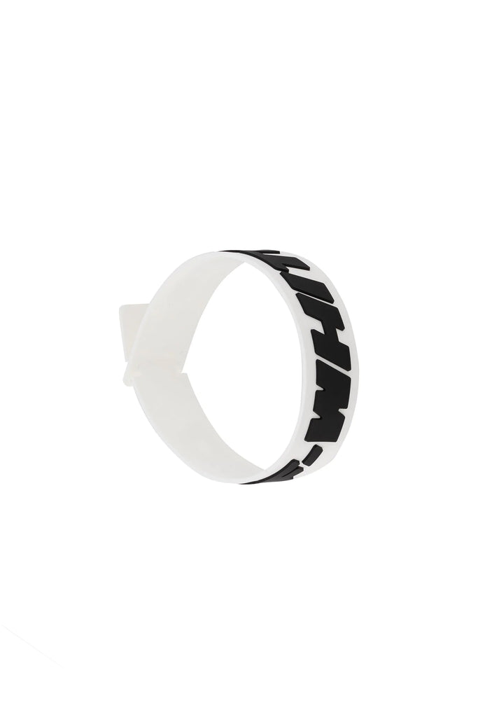 2.0 Industrial Thin Bracelet - White