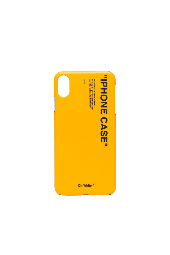 Quote iPhone Cover - Yellow