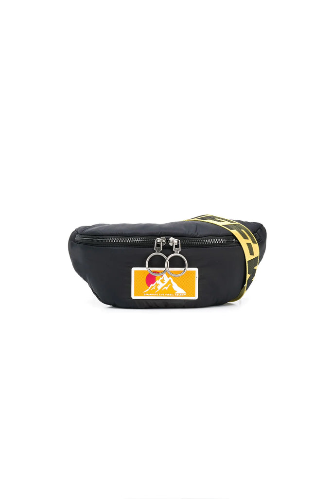 Puffy Basic Fannypack - Black