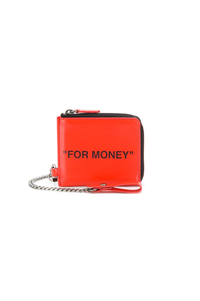Quote Chain Wallet - Orange
