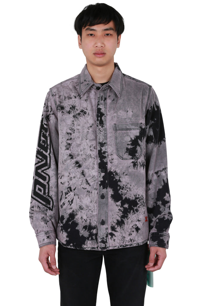 Pivot Tie Dye Denim Shirt