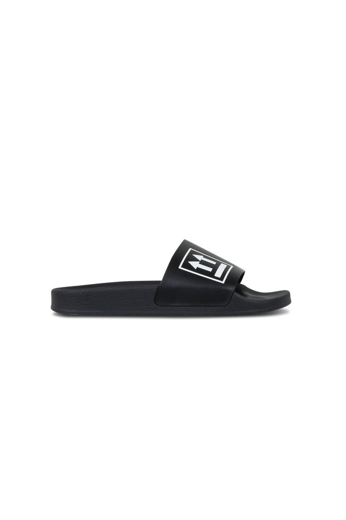 OFF-WHITE: Double Arrow Slides - Black | LESSONS