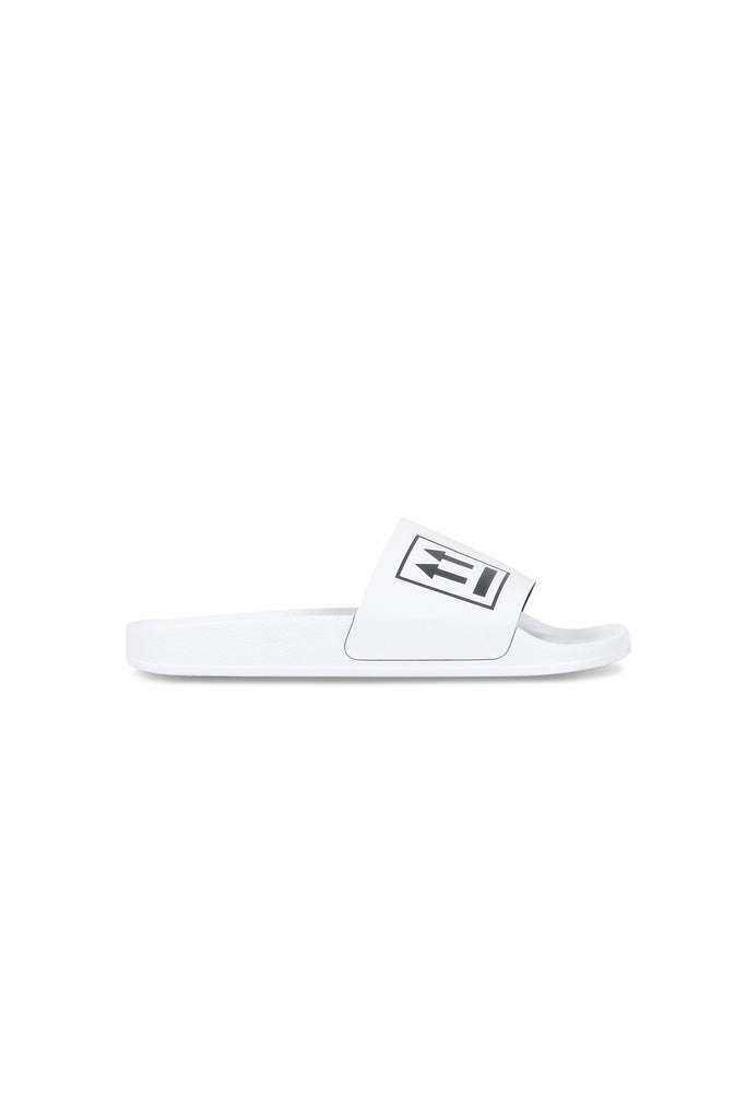OFF-WHITE: Double Arrow Slides - White | LESSONS