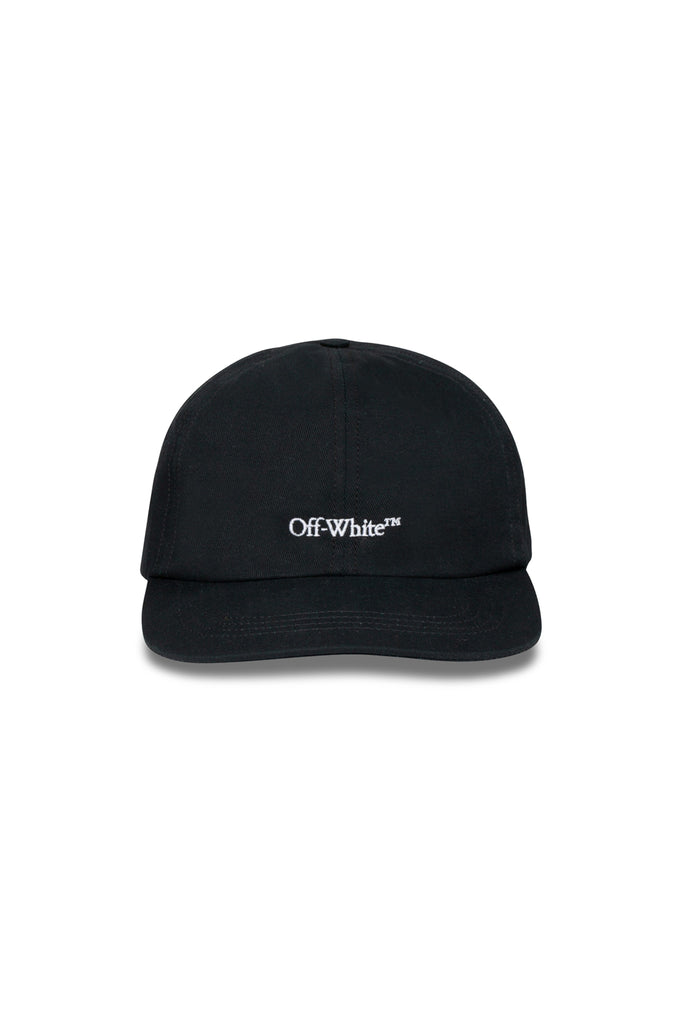 Bookish Baseball Cap - Black/White