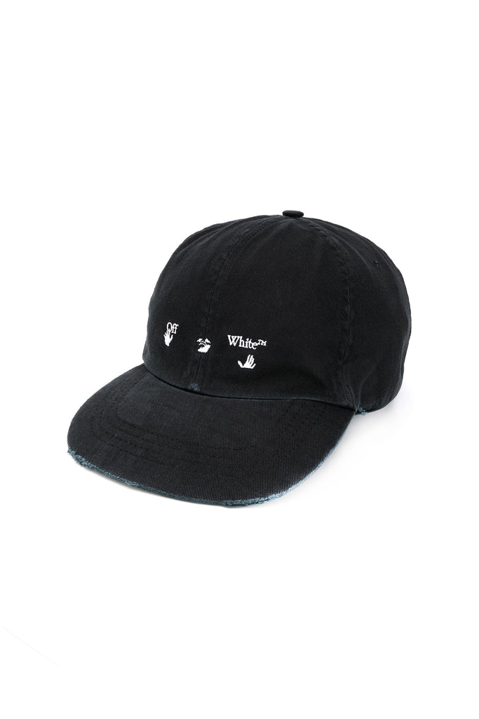 Logo Baseball Cap - Black/White