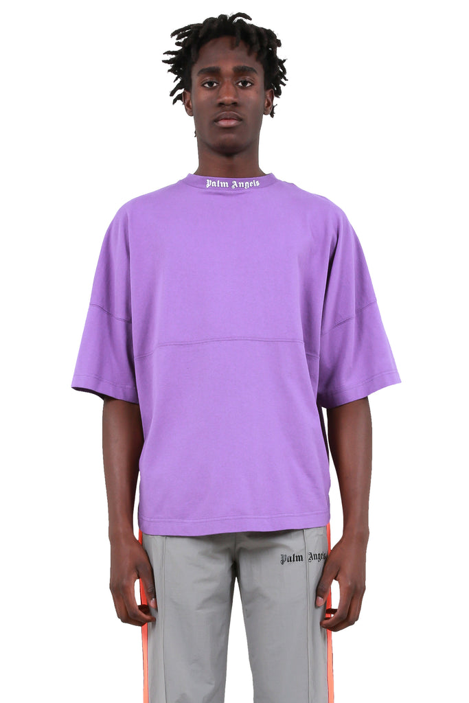 Logo Over T-Shirt - Purple