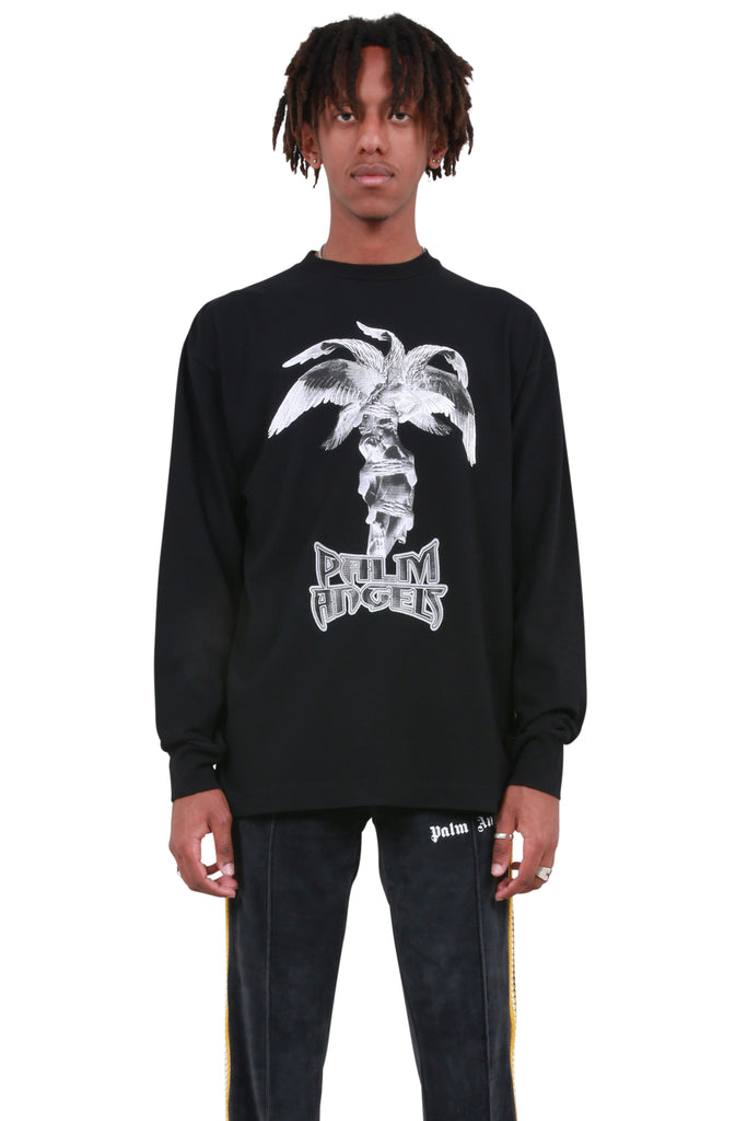 Statue Long Sleeve T-shirt - Black