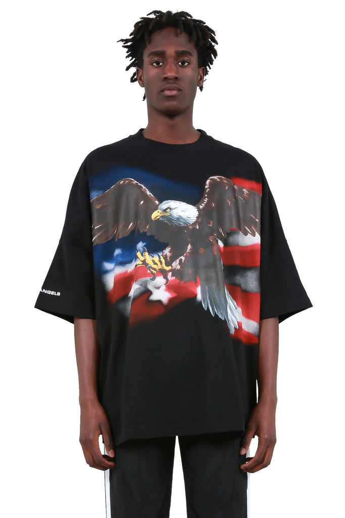 Eagle Loose T-Shirt - Black