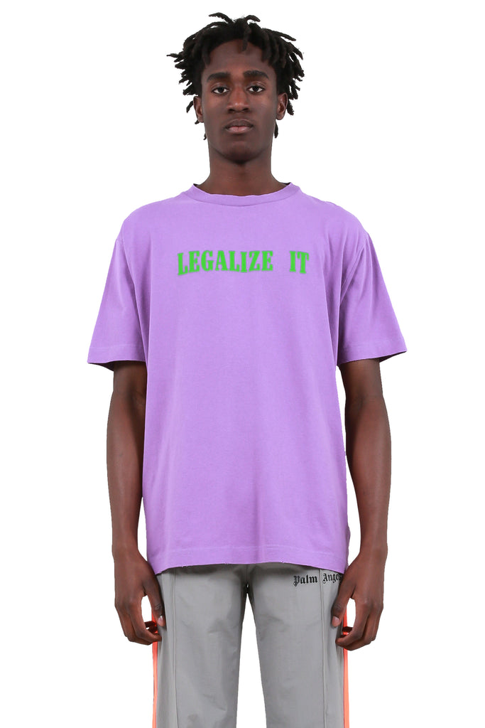 Legalize It T-Shirt - Purple