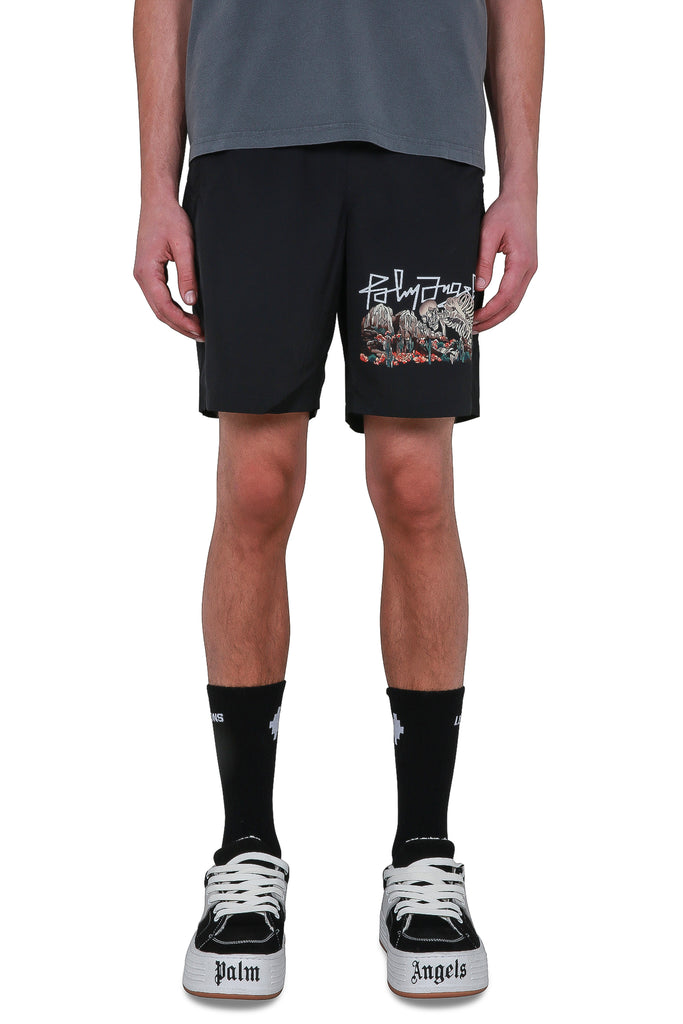 Desert Skull Swim Shorts - Black/Multi