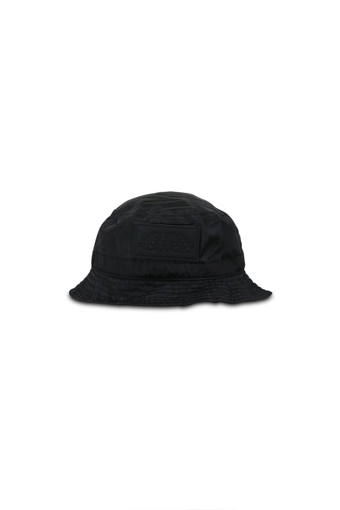 Stitched Bucket Hat - Black