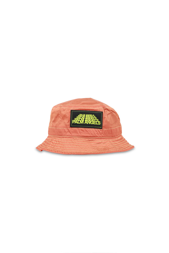 Stitched Bucket Hat - Prison Orange